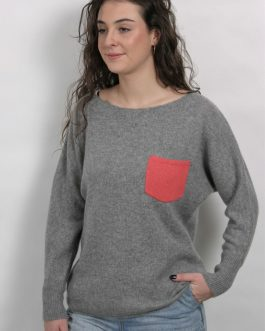 Pull Poche Cocoon ( réf Lola )